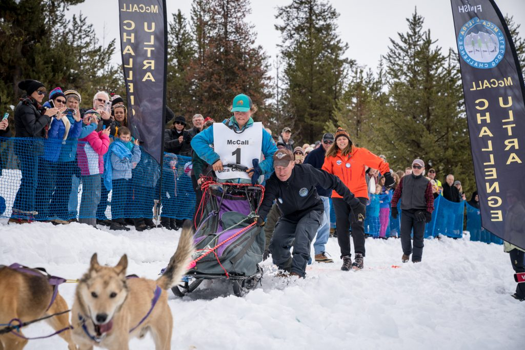 Official Start of the Idaho Sled Dog Challenge 2018
